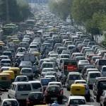 Panico nel traffico